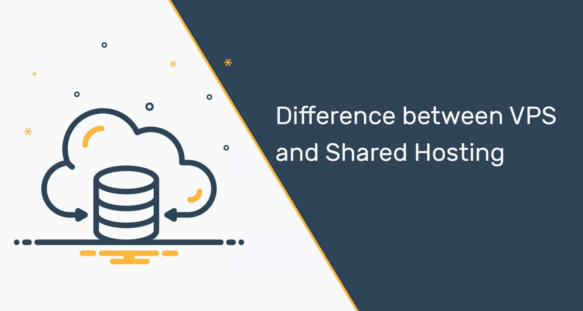 Difference between VPS and Shared Hosting
